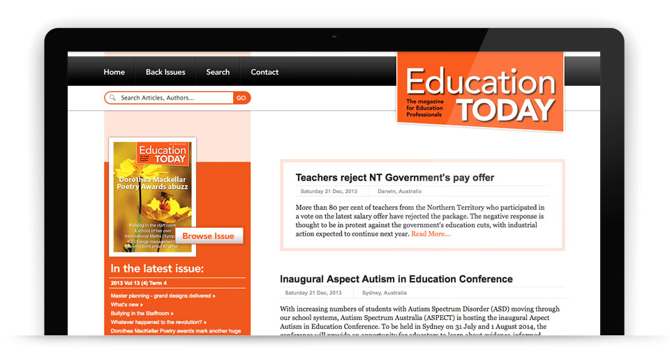 Minnis Journals - Education Today